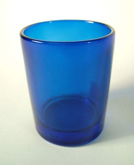 Cudge.net - Blue Votive Candle Holders - Case of 72